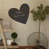 Nutmeg Wall Stickers Heart Chalkboard Sticker