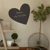 Nutmeg Wall Stickers Wandsticker Heart Chalkboard