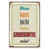 Cuadros Lifestyle Schild Grossartig - 45 x 30 cm