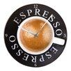 Cuadros Lifestyle Analoge Wanduhr Espresso 30 cm
