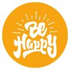 Cuadros Lifestyle Wandtattoo Be happy