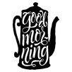 Cuadros Lifestyle Good Morning Wall Tattoo