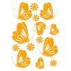 Cuadros Lifestyle Wandtattoo Schmetterlinge