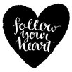 Cuadros Lifestyle Follow Your Heart Wall Tattoo