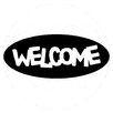 Cuadros Lifestyle Welcome Wall Sticker