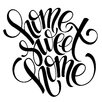Cuadros Lifestyle Home Sweet Home Wall Sticker