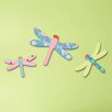Cuadros Lifestyle Wanddekoration Wanddekoration-Set Libellen