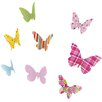 Cuadros Lifestyle Butterflies Wall Décor (Set of 8)