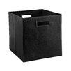 ClosetMaid Decorative Storage Leather Bin