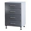 """ClosetMaid ProGarage 36.49"""" H x 24.02"""" W x 19.91"""" D 4 Drawer Storage Cabinet"""