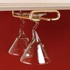 "Rev-A-Shelf 11"" Hanging Wine Glass Rack"