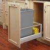 "Rev-A-Shelf 12.13"" 50 Quart Pullout Waste Container"