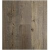 "Easoon USA 7-1/2"" Engineered White Oak Hardwood Flooring in Gettysburg Grey"