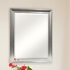 MCS Industries Satin Silver Beveled Mirror