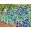 GK Art Sprl Iris by Van Gogh Tapestry