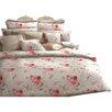 Pfeiler Waeschemanufaktur Bettwäsche-Set Rose aus Baumwolle
