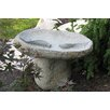 Stone Age Creations Large 2 Fish Boulder Bird Bath