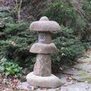 6 Piece Garden Stone Lantern Set - Stone Age Creations Garden Statues and Outdoor Accents
