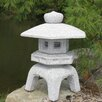 5 Piece Garden Stone Lantern Set - Stone Age Creations Garden Statues and Outdoor Accents