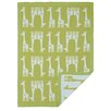 Lolli Living Giraffe Mod Jacquard Blanket