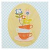 Lolli Living Scarlet Teacups Wall Plaque