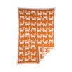 Lolli Living Woods Fox Mod Jacquard Blanket