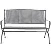 MWH Royal Garden 3 Seater Iron Bench