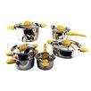 BergHOFF International Stacca 11-Piece Cookware Set
