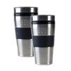 BergHOFF International Orion 16 oz. Travel Mugs (Set of 2)