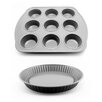BergHOFF International Earthchef Pie and Muffin Pan Set (Set of 2)