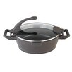 "BergHOFF International Virgo 11"" Non-Stick Deep Skillet with Lid"