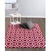 Diagona Designs Jasmin Red Area Rug