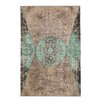 Sitap Spa. Mydesign Hand-Knotted Brown Area Rug