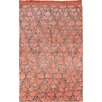 Sitap Spa. Mydesign Hand-Knotted Orange Area Rug