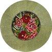 Sitap Spa. Mydesign Garden Hand-Woven Green Area Rug