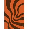 GP Rugs Havanna Orange Area Rug