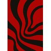 GP Rugs Havanna Red Area Rug