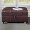 Bellasario Collection Royal Comfort Upholstered Storage Entryway Bench