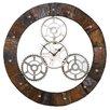 WerkStadt Steel XXL 62cm Analogue Wall Clock