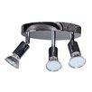 Bel Étage LED-Deckenlampe 3 -flammig Rondell