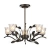 Dar Lighting Prunella 5 Light Mini Chandelier