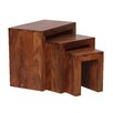 Bel Étage 3 Piece Side Table Set