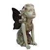 Hi-Line Gift Ltd. Fairy Kneeling and Looking Up Statue