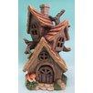 Hi-Line Gift Ltd. Polyresin Tri House