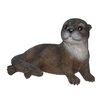 Hi-Line Gift Ltd. Resting Otter Figurine