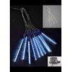 Hi-Line Gift Ltd. 10 Tubes with 12 LED Light Meteor