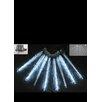 Hi-Line Gift Ltd. Meteor Icicle Lights with 20 White LED Lights (Set of 2)