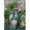Fiber and Resin Pouring Jugs Fountain - Hi-Line Gift Ltd. Indoor and Outdoor Fountains