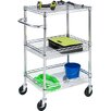 HoneyCanDo 3-Tier Urban Utility Cart with 3 Shelves