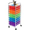 HoneyCanDo 10 Drawer Utility Cart